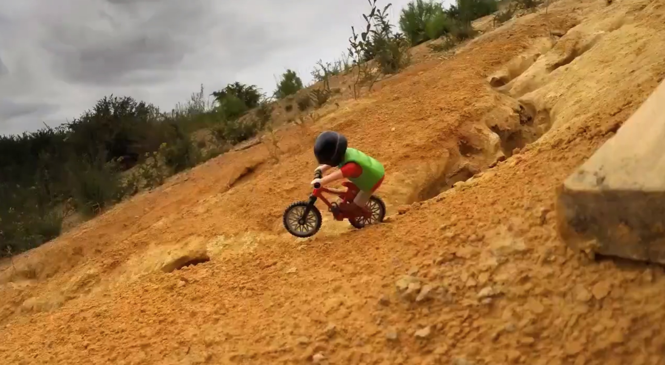MTB Downhill playmobil