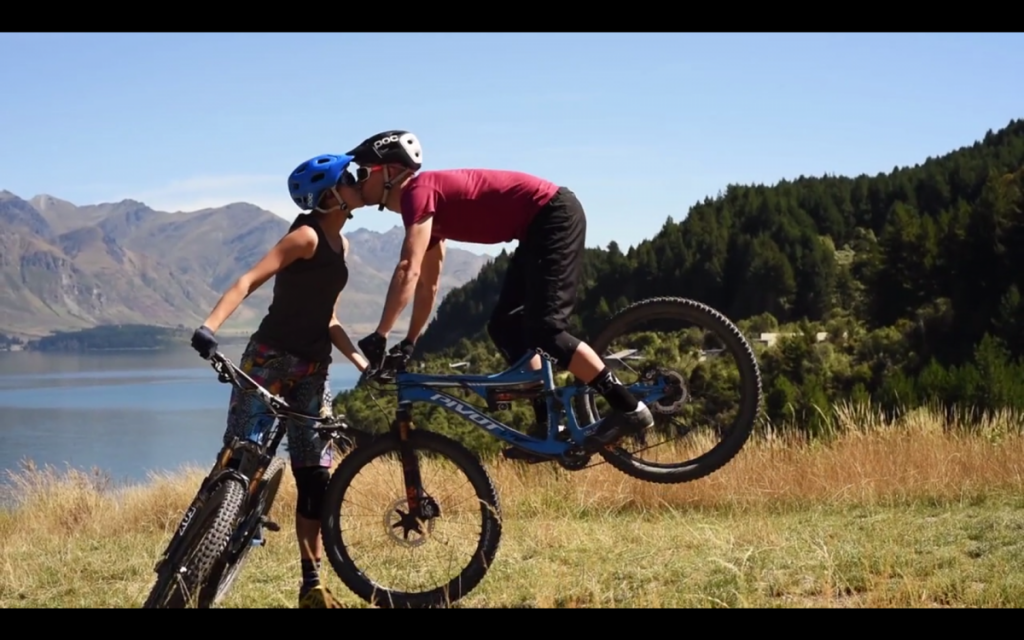 pivot riding couple